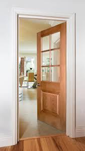Bespoke Interior Doors Kensington 6 Light Oak Bespoke Door Doors Charles Todd