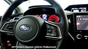 subaru car interior 2017 subaru impreza review interior walkaround part 2 8 youtube
