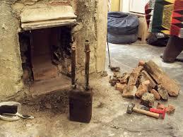 axforddiy rebuilding fireplace