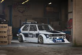 volkswagen golf mk1 modified forge motorsport unveils bespoke 45k berg cup golf mk1