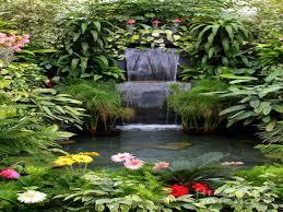 backyard pond designs back yard garden with waterfall backyard