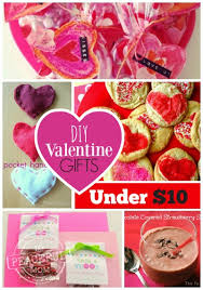 valentines presents for diy gifts for 10 or less the peaceful