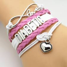 heart bracelet charms images Diabetic infinity heart bracelet apple thorne jpg