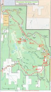National Map Cleveland National Forest Scenic Driving