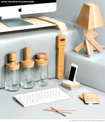 Desk Accessory Sets Office Desk Office Desk Accessories Set Mesmerizing Wooden For