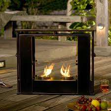 Sunjoy Amherst Fireplace by Portable Outdoor Fireplace Ideas Aytsaid Com Amazing Home Ideas