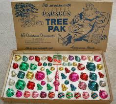 paragon tree pak vintage ornaments vintage