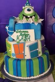 monsters inc baby shower cake 12 incm shower cakes photo monsters inc baby shower cake
