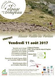 chambre agriculture 87 04 journée en alpage dans la haute vallée du verdon provence