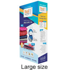 Realspace Warranty by Real Space Bag Vacuum Storage Bags For Clothes Large Size Set