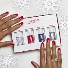 amazon com essie 2016 holiday mini kit luxury beauty