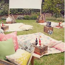 13 best images about backyard movie party on pinterest