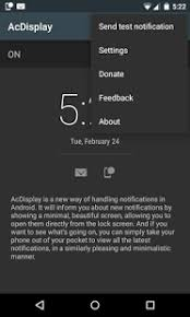 how to change lock screen on android acdisplay android apps on play