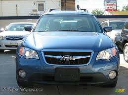 blue subaru outback 2008 2008 subaru outback 2 5i limited wagon in newport blue pearl photo