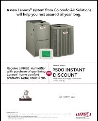 Colorado Comfort Products Heating And Air Conditioning Air Conditioner Installation