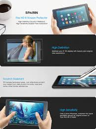 black friday tablet amazon fire 8 deals 2016 amazon com 2017 all new fire hd 8 screen protector sparin