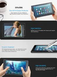 amazon black friday deals hd 8 2016 amazon com 2017 all new fire hd 8 screen protector sparin