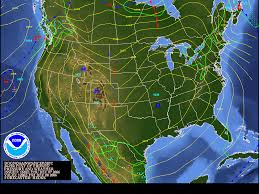 Rainfall Map Usa Wpc Product Legends Surface Fronts And Precipitation Areas Symbols