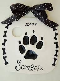best 25 pet paw print ornament ideas on holidays with