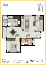 1bhk floor plan 1 bhk 2 bhk and 3 bhk apartments in coimbatore sobha elan