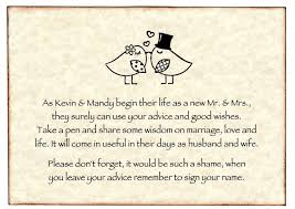wedding wishes and advice 44 best guestbooks images on advice cards planning a