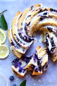 blueberry lemon bundt cake tutti dolci