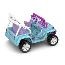 frozen power wheels sleigh power wheels disney frozen jeep wrangler 12 volt ride on toys