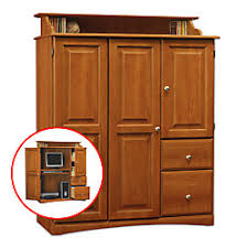 Computer Armoire Office Depot Office Depot Brand Ansley Park Computer Armoire 55 H X 43 1516 W X