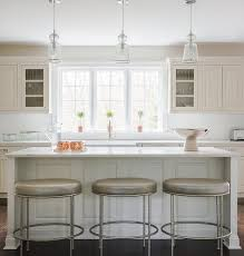 glass pendant lights for kitchen island white kitchen cabinets taupe island design ideas