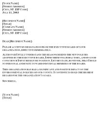 resignation letter one month notice period resignation letter to