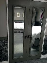 Mirror Closet Door Bifold Mirrored Closet Door Pulls Glass Shower Mirror Design