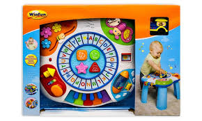 2 In 1 Activity Table Letter Music Activity Table Or 2 In 1 Ocean Activity Center Groupon
