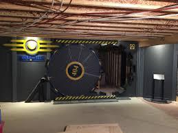 fallout vault tec gaming room vault door gaming greatness