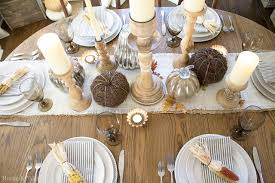 6 beautiful thanksgiving tablescape ideas