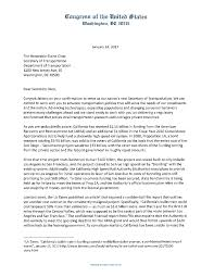 2017 01 24 ca rep delegation letter to secretary chao on high speed r u2026