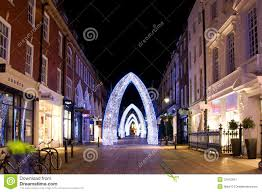 christmas street decorations london editorial photo image 22412941