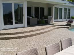 resurface concrete with stone creations