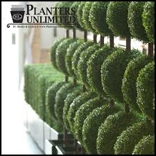 Topiary Planters - outdoor artificial topiaries fake topiaries topiary plants