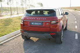 range rover evoque rear range rover evoque test drive review autoworld com my