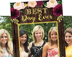 photo booth frames photo booth picture frame bridal shower photo booth frame rustic