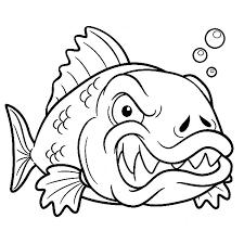 monster fish colouring monster fish colouring