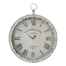 Clock Home Decor Shop Stratton Home Decor Pocket Watch Analog Round Indoor Wall