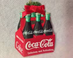 coca cola six pack etsy