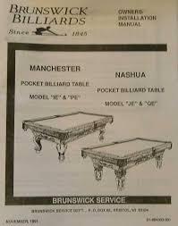 brunswick pool table assembly identifying brunswick pool table manchester nashua