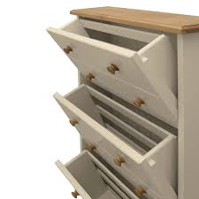 Large Shoe Storage Cabinet Furniture Harrogate Cream Painted Pine Furniture Large Shoe Storage Cabinet Rack