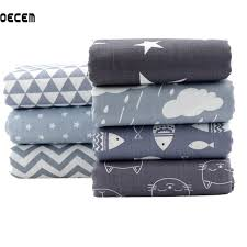 aliexpress buy quilting cotton fabric gray series