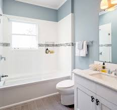 blue bathroom design ideas home interior and exterior inspiration for small beach style master tub shower combo remodel san francisco with