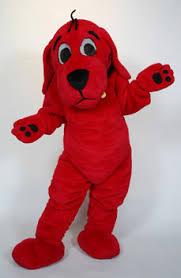 Halloween Costume Rent Clifford Big Red Dog Custom Mascot Costume Character Mascot