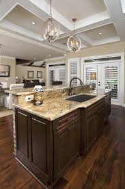 kitchen islands with sink kitchen kitchen a well sized center island provides seating