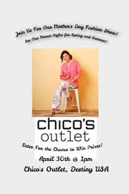 chicos outlet chico s outlet s day fashion show destiny usa